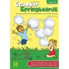 Grammar Springboards Years 1-2 by Alison Milford 9781909860216