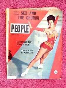 PEOPLE  MAGAZINE    JULY   27  1966   ISSUE   VOL 17 No. 12