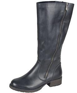 39 Boots Z9581 Casual 00 36 High Ladies Eu Knee Black Rieker Size qPTntS