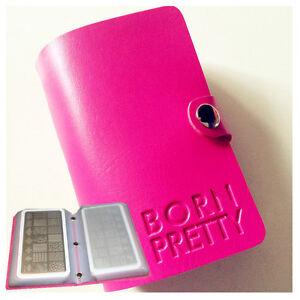 BORN-PRETTY-Nail-Art-Stamping-Plate-Holder-20-Slots-Rectangular-Plate-Organizer