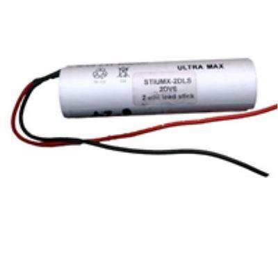 2.4V 4AH Ni-Cd Rechargeable Emergency Lighting Battery Pack Yuasa 2DH4-0T3