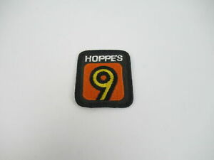 HOPPE-S-9-Channel-Uniform-Shirt-Pocket-Patch-Badge-Advertisements