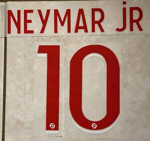 Flocage Nameset Neymar #10 Paris 2020-2021. Domicile . Ligue 1