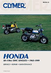 CLYMER-REPAIR-MANUAL-Fits-Honda-Z50R-CT70-CT110-CT90-Z50A-XL70-ST90