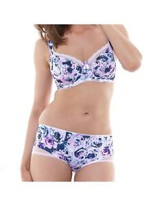 FANTASIE-PENELOPE-PURPLE-HAZE-SHORT-SIZE-UK-M-AU-12-NEW-W-TAGS