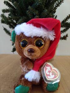 16623b787dc Image is loading Ty-Beanie-Boos-EXCLUSIVE-2018-Nicholas-Christmas-Bear-