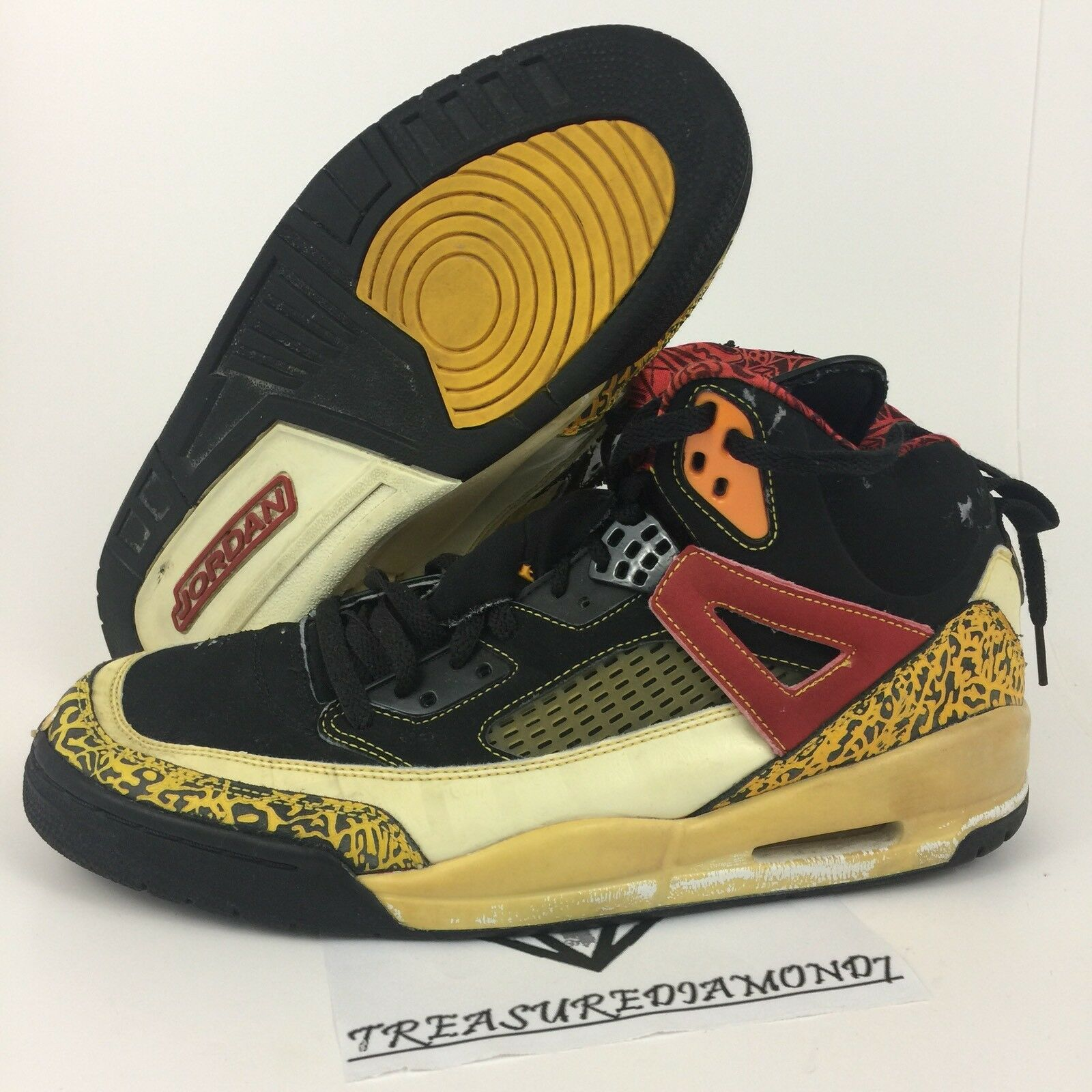 big sale 72034 23d03 ... purchase nike air jordan 07 spizike king county negro 315371071 taxi  rojo oro blanco 315371071 negro