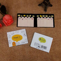 Cute 200 Pages Ten Fingers Sticker Post It Bookmark Flags Memo Sticky Notes pads