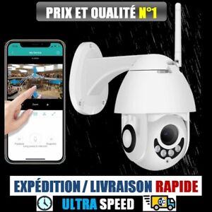 Camera de Surveillance Exterieur Wifi IP 1080P Audio Vision Nocturne Automatique