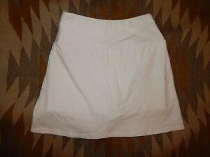 f8cbbec67aa1b Teez-Her ~ Women s S ~ White ~ Skinny Skort ~ Cotton Skirt