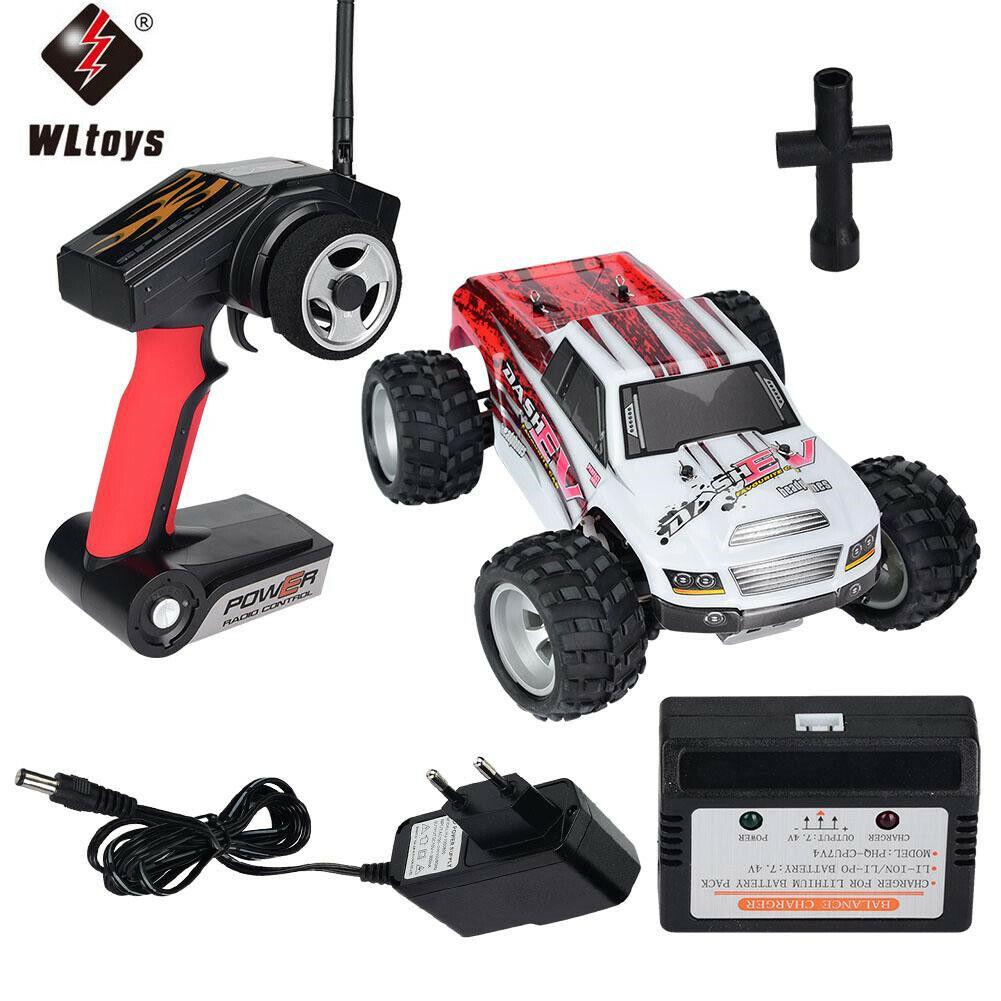 Wlgiocattoli A979-B 1 18 4WD 70KM h 2.4G  Remote Control Off-strada Vehicle RC auto GD   solo per te