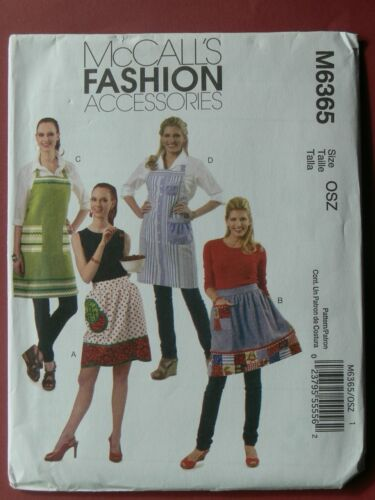 McCall/'s Pattern 6365 Aprons in Four Sizes with Pockets
