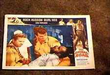 SPIRAL ROAD 1962 LOBBY CARD #6 ROCK HUDSON