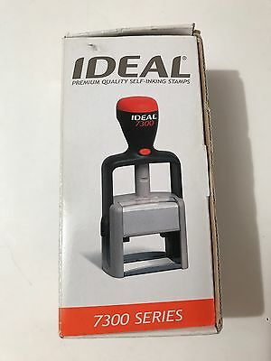 Paid Date CK# Ideal Stamper 7300 Series Premium Quality Self Inking Stamps