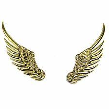 3D Alloy Gold Metal Angel Hawk Wings Emblem Badge Decal Car Logo Sticker