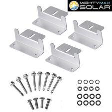 Mighty Max Solar Panel Mounting Z Bracket kit for 50 Watt Solar Panel