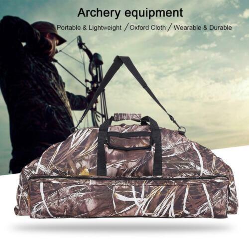Compound Bow Bag Archery Arrow Carry Bag Handbag Case Hunting Quiver Holder SP