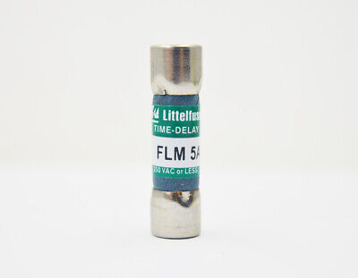 Littelfuse FLM 1-6//10 1.6A  250Vac Midget Time-Delay Fuse FLM-1-6//10