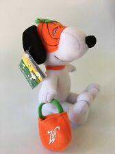 "Whitman's Candies - Snoopy Plush 6"" - Halloween, Pumpkin Face Mask (Z25-21)"