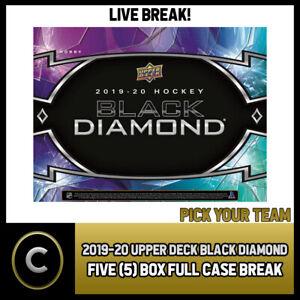 2019-20-UPPER-DECK-BLACK-DIAMOND-5-BOX-FULL-CASE-BREAK-H536-PICK-YOUR-TEAM