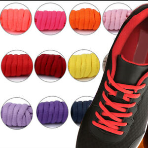 Shoelaces-Colorful-Flat-Half-Round-Bootlace-Sneaker-Shoe-Laces-Shoe-Strings