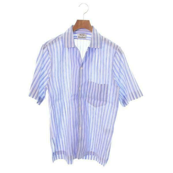 Acne Studios Casual Shirts  962114 WhitexMulticolor
