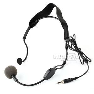plug earhook headset microphone for sennheiser wireless mic mike system ebay. Black Bedroom Furniture Sets. Home Design Ideas