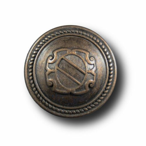 3189am-6-8 Entières phrase noble Blazer boutons altmessing