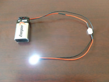 Prewired Led Light Assembly With Onoff Switch And 9 Volt Battery Connector