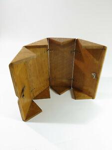 Antique-Singer-Sewing-Machine-1889-Oak-Puzzle-Box-Restored-amp-Refinished