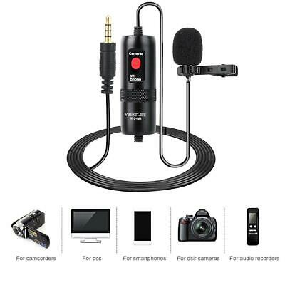 V BESTLIFE Portable Condenser Microphone with Windshield for Camera//Camcorder//Audio Recorders//Lightweight//Highly Sensitive//Low Noise