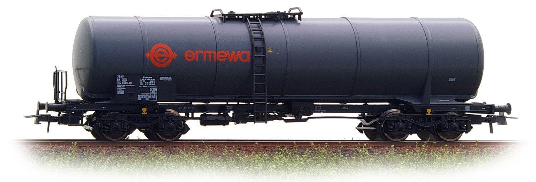Roco 66559 Cisterna a Bogies Sncb  Ermewa  gris Oscuro