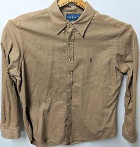 Men-039-s-Polo-Ralph-Lauren-100-Cotton-L-S-Button-Down-Shirt-Size-XL