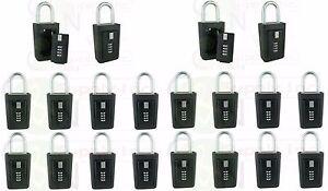 Key storage lock box realtor lockboxes real estate 4 digit lockbox - Pack of 20