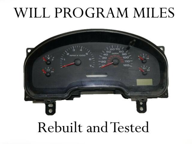 2006 Ford F150 XLT Speedometer Cluster MPH ID 6l3410849aa