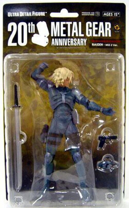Metal Gear Solid Raiden 7-Inch Collectible Figure [MGS2, Loose]