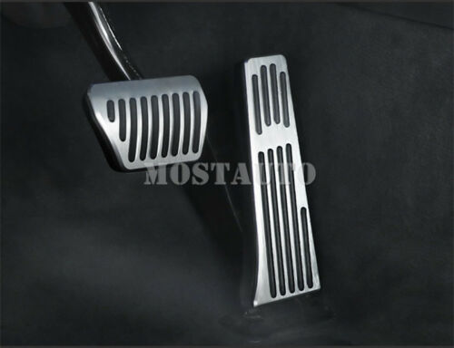 For BMW 5 Series F10 F11 AT Brake Accelerator Pedal Footrest Pad Cover 2011-2016