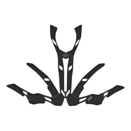 Troy Lee Designs A2 2.0 x-Casque Static titreuse-Noir