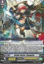 CARDFIGHT VANGUARD CARD: BATTLE SISTER, COMPOTE - G-CHB02/027EN R RARE