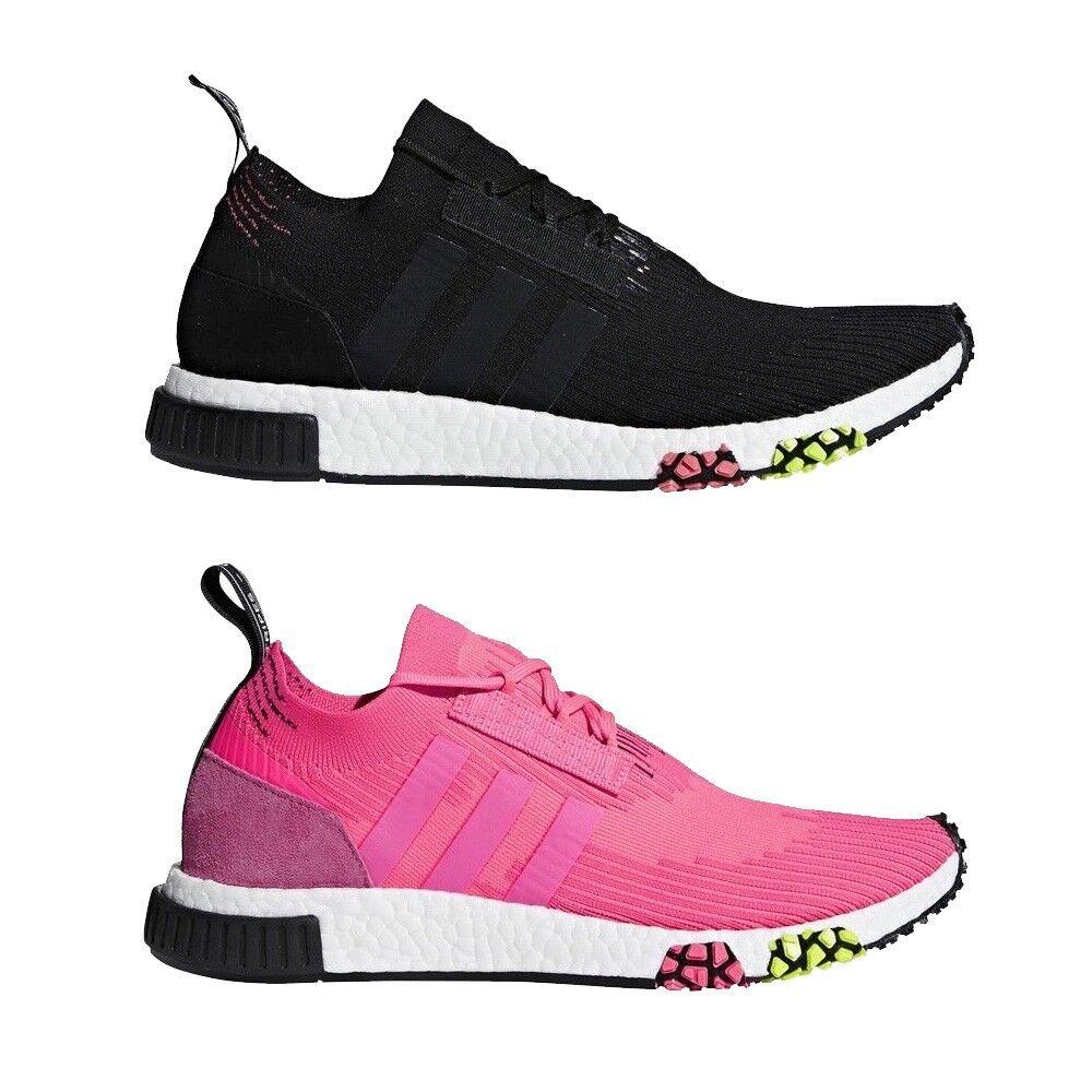 Adidas originali scarpe nmd racer pk primeknit scarpe originali da uomo cq2441 (nero) cq2442 (rosa) 1bc062