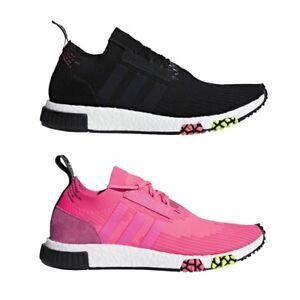 Adidas originali nmd racer pk primeknit scarpe da uomo cq2441 (nero