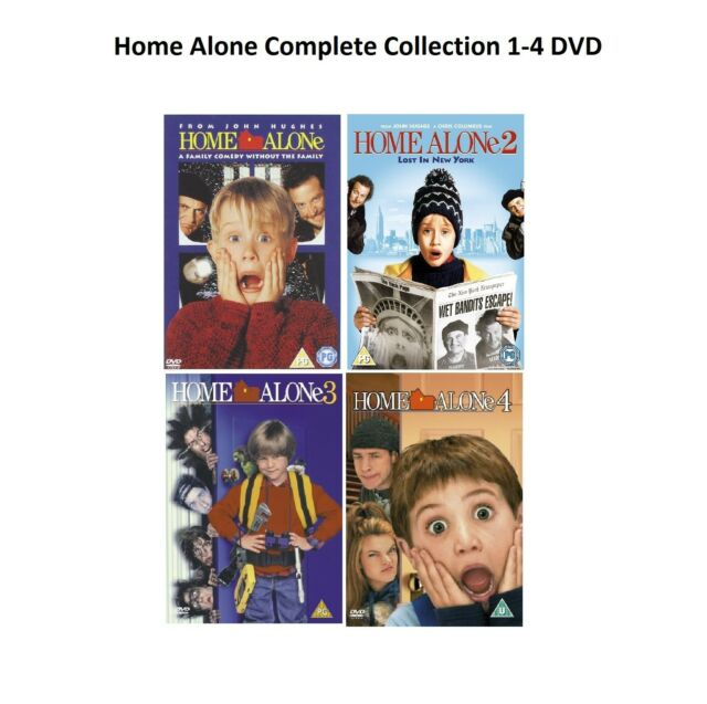 Home Alone Complete Collection 1 4 Dvd All Movie Films 1 2 3 4 Uk