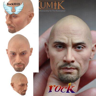 "KUMIK 1//6 Scale Head Sculpt 16-71 VanDiesel Model F12/"" Male Body Action Figure"