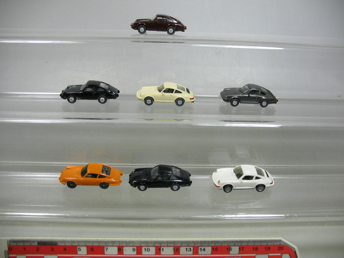 Af137-0, 5 x Wiking H0 Car   Model Porsche  Carrera 4 Cabriolet +911 C etc. ,