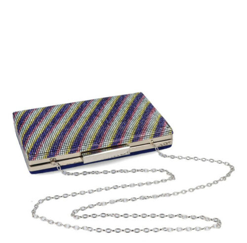 Details about  /Clutch Bag With Shoulder Strap Chain MENBUR New Collection 084714 Arpesina