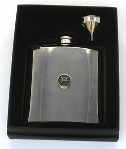 Pisces Hip Flask Zodiac Sign Stainless Steel Horoscope Gift Free Engraving GGWp615V-09121133-314264603