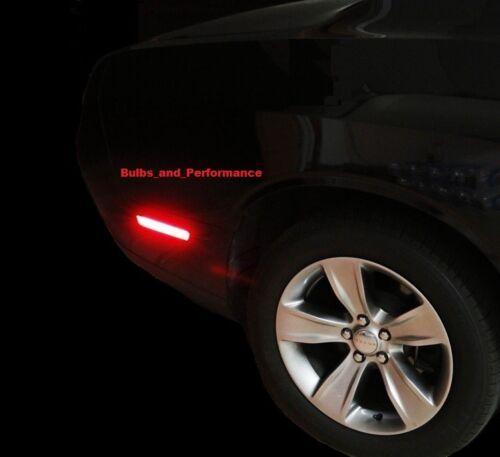 2008-2014 DODGE CHALLENGER SMOKED LENS LED SIDE MARKER LIGHTS FRONT /& REAR SET