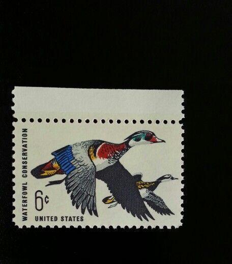 1968 6c Waterfowl Conservation, Ducks Scott 1362 Mint F