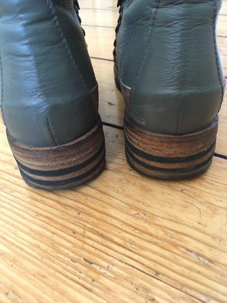 Candice Cooper Stiefelette kauf braun grün gr.39 Schnürer (werden bei kauf Stiefelette geklebt) 80885b