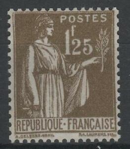 FRANCE-STAMP-TIMBRE-N-287-034-TYPE-PAIX-1F25-OLIVE-034-NEUF-xx-SUP-K831
